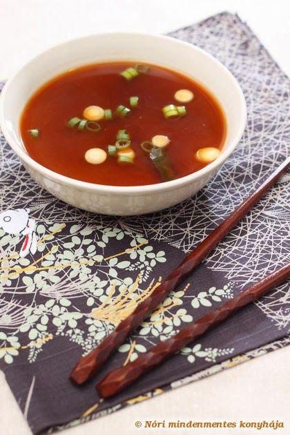 Nóri mindenmentes konyhája: Miso leves