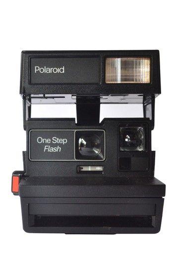 Vintage Polaroid One Step Flash Camera c1970s