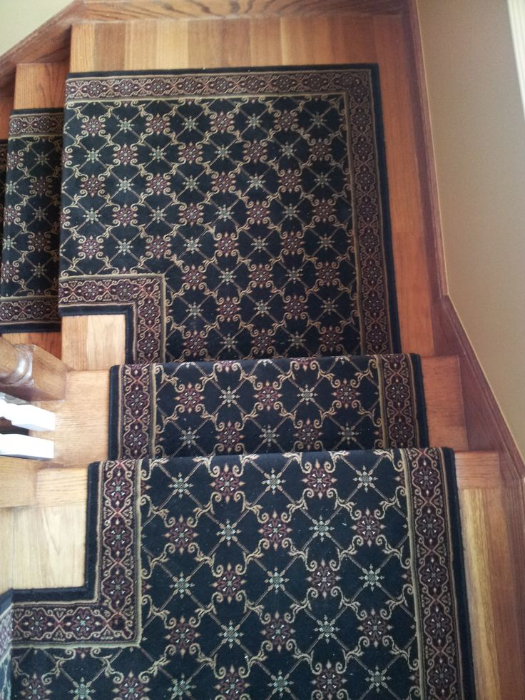 how to make a stair runner out of carpet