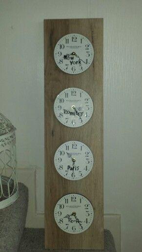 Our World clocks