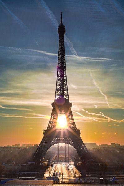 Paris Sunrise