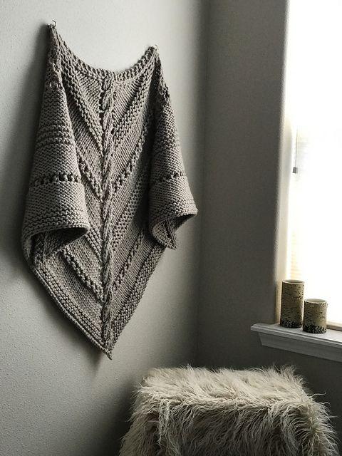 323 mejores imágenes de Knitting: shawls & wraps en Pinterest ...