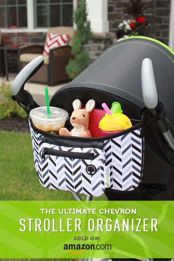 Check out this Must-Have Chevron Stroller Organizer by SavvyBaby! Click on the image above to get a free coupon for Amazon.com shoppers! (Coupon expires 12/31/15)