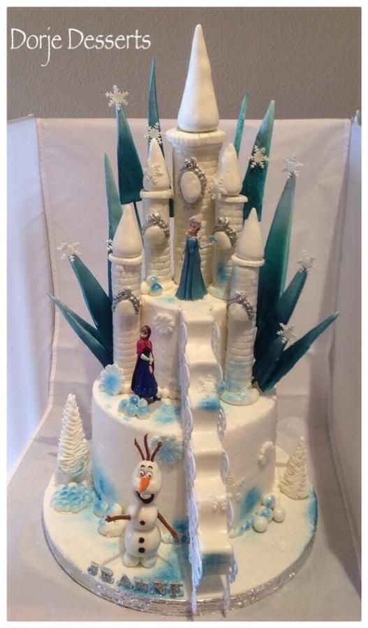 1000+ images about Disney Frozen Cake ideas on Pinterest ...
