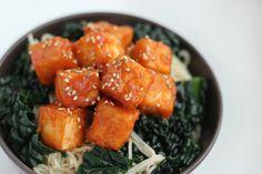 Tofu Croustillant à la Sauce Aigre-Douce « Mango and Salt