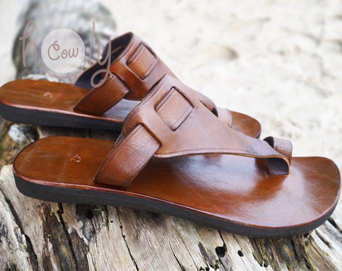Sandalias de cuero hecho a mano, sandalias de cuero marrón, sandalias mujer, sandalias de cuero para hombre, sandalias mujer, zapatos de mujer, sandalias Hippie de cuero