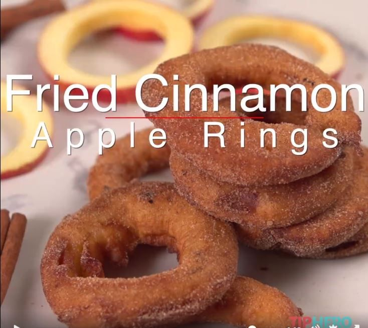 Cinnamon Apple Rings by Tip Hero   https://www.facebook.com/tiphero/videos/vb.225525523760/10154555159443761/?type=2&theater