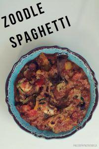 Zoodle Spaghetti