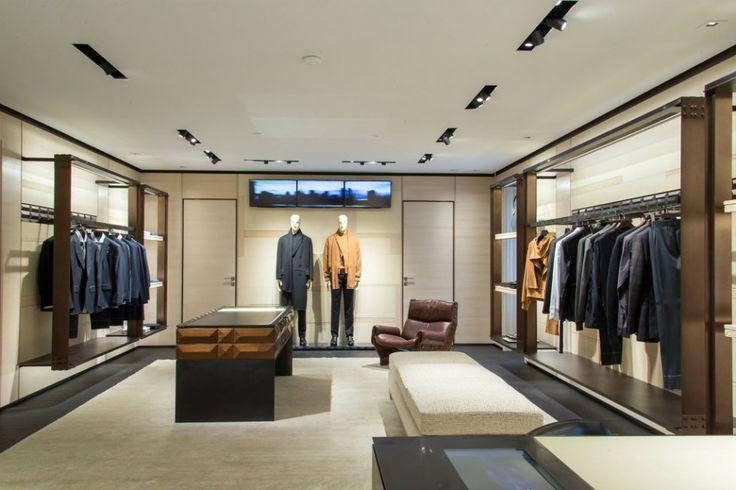From Heritage To Traditional: Ermenegildo Zegna Unveils Milan Couture Room. Milan  FurnitureFurniture StoresMilan ...