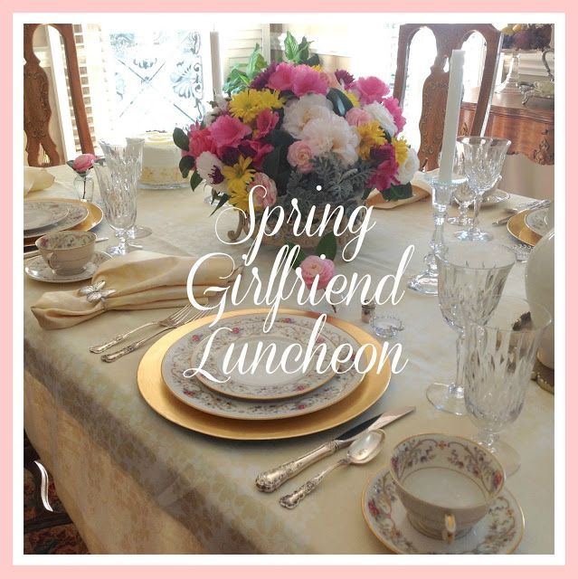 Living With Thanksgiving:Spring Girlfriend Luncheon