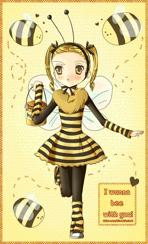 Ella es Daisy ^ ^ una muchacha de la abeja hostil. Ella es otro personaje que hice para mi proyecto Crisálida manga ^ ^.  Perdón por la mala e_e anatomía