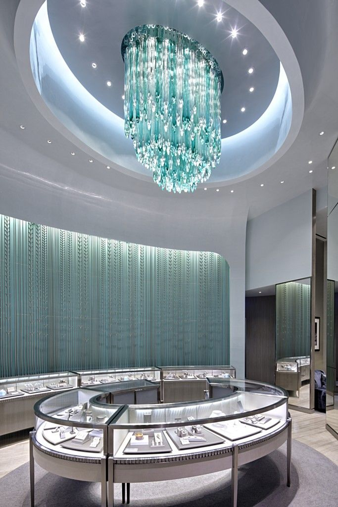 Tiffany U0026 Co. Bellavita Store   Lasvit