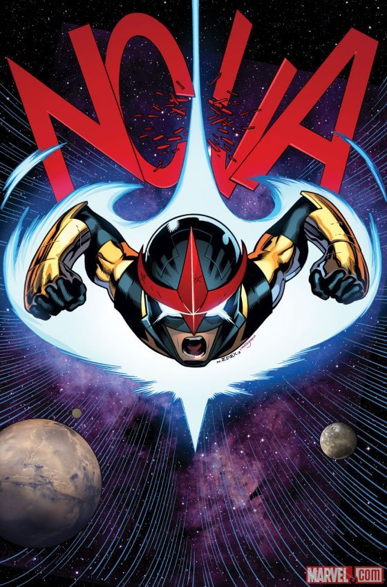 Nova (Sam Alexander) by Ed McGuinness