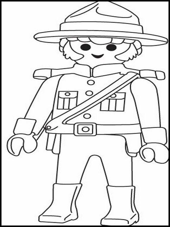 ausmalbilder playmobil cowboys | amorphi