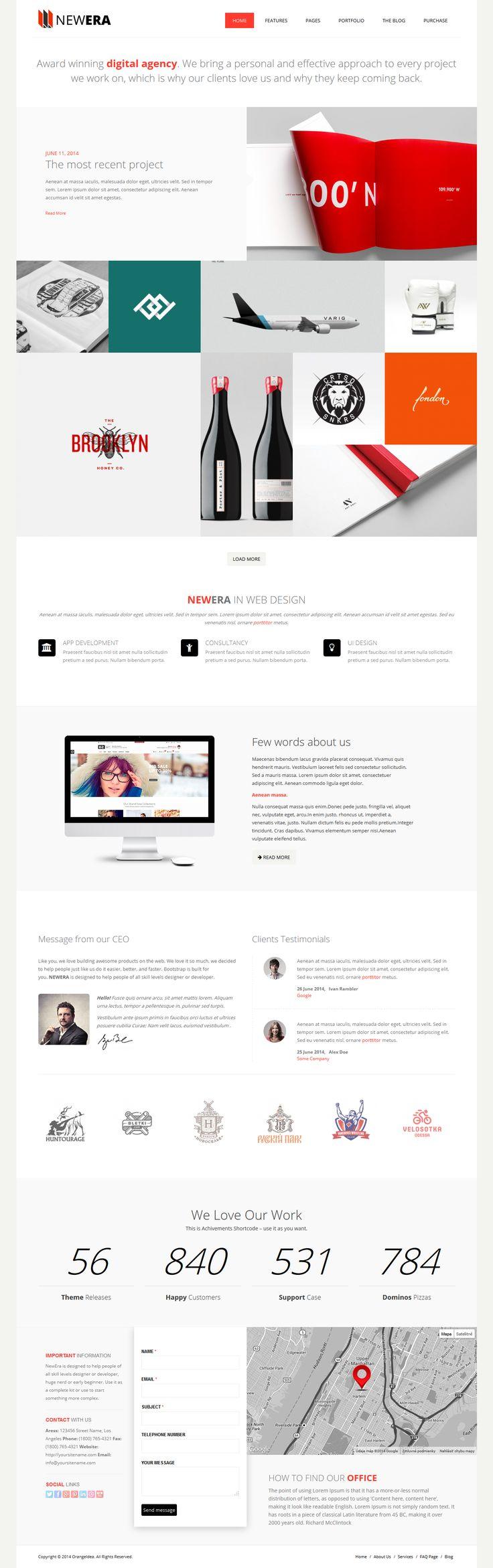 20+ Best SIMPLE WordPress Themes of 2014 #design