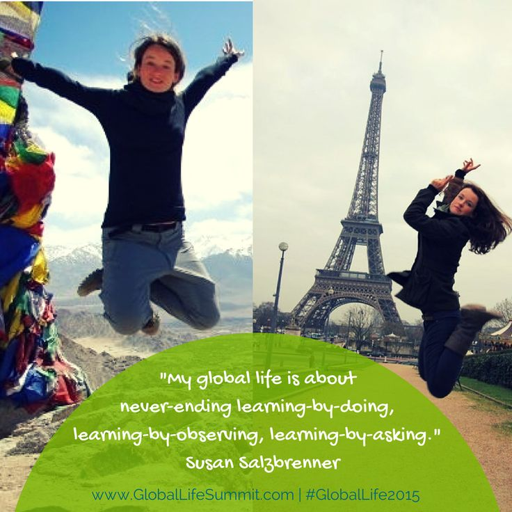 """Enhance your Global Travel with Susan Salzbrenner, the founder of Fit across Cultures, a boutique intercultural consulting firm. Having lived and worked (and played basketball) in six countries on four continents, she is passionate about all things intercultural and sport, and combines this in her work with pro athletes and teams abroad. Her motto: """"If it doesn't challenge you, it doesn't change you!"""""""
