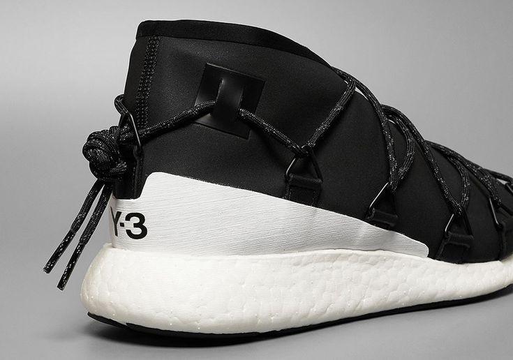 adidas Y-3 Cross Lace Run Black White | SneakerNews.com