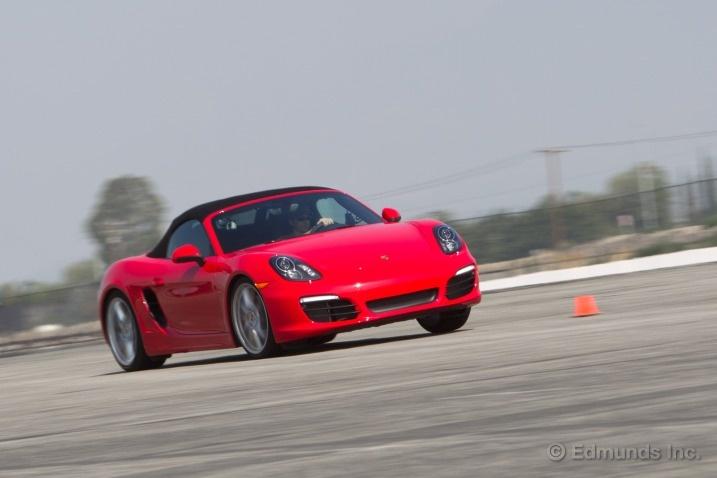 2013 Porsche Boxster S Track Test