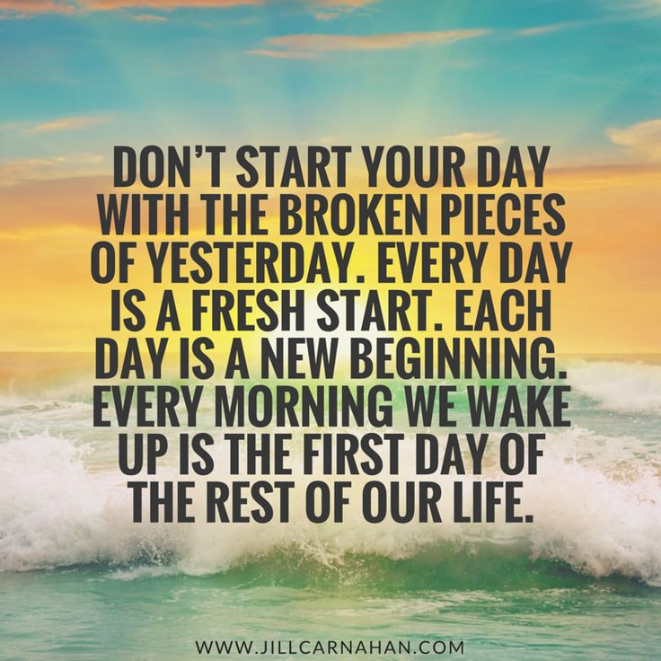 Inspirational Day Quotes: 1000+ Fresh Start Quotes On Pinterest