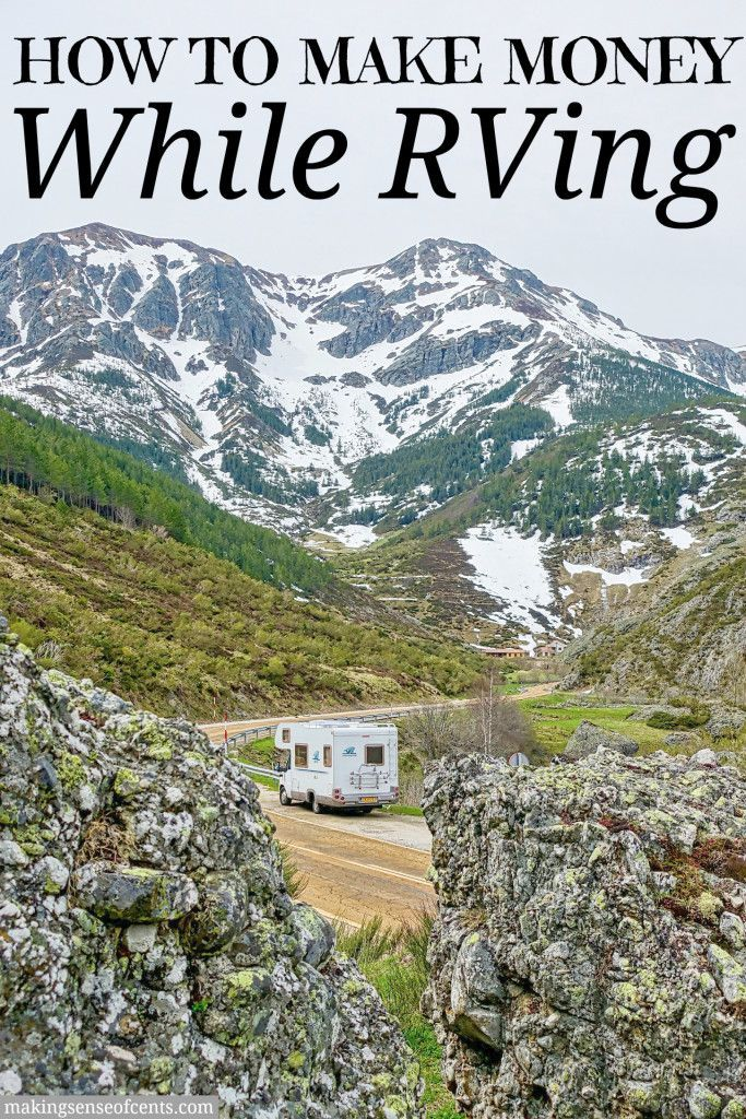 Did you know that it is possible to make money while traveling? Yes, it is! Here are my tips on how to make money on the road and RV full-time.