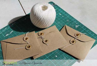 studioscrap: Крафт-конверты! Мастер-класс!