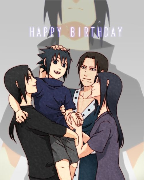 Sasuke birthday