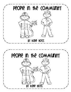Community Helpers Emergent Reader Book