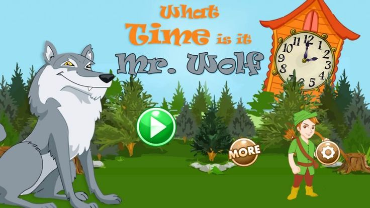 What Time is it Mr. Wolf? {Math App} https://itunes.apple.com/us/app/mr.-wolf-telling-time-game/id832156884?ls=1&mt=8 #Math #App