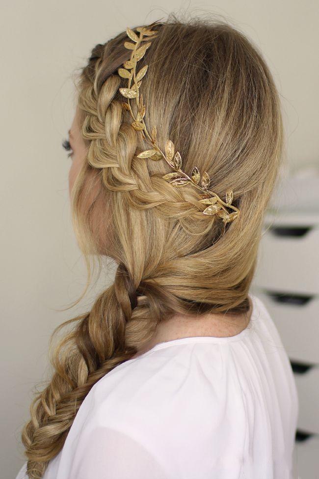 the best trenzas cocidas ideas on pinterest coletas trenzadas peinados de coleta and lado de trenza desordenada