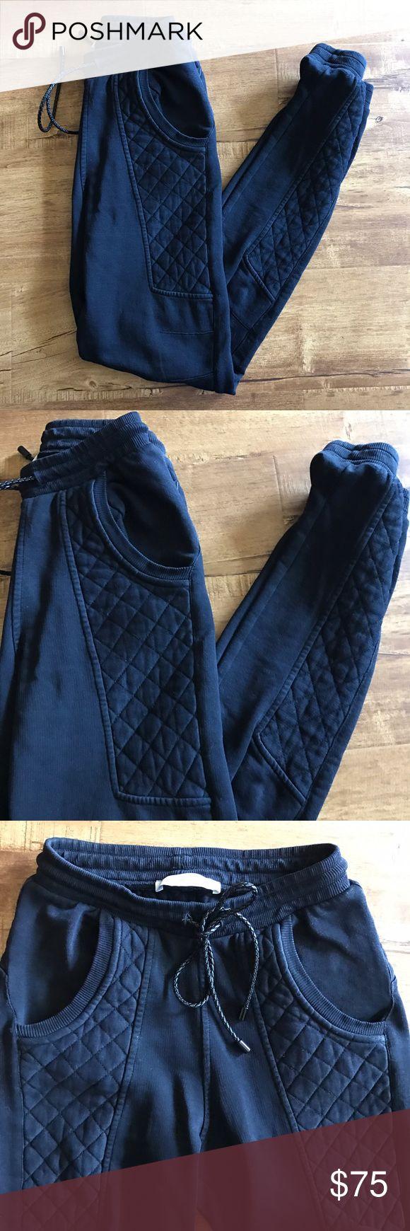 Pierre Balmain Black Joggers Sweatpants XS Pierre Balmain black joggers.  Size 0.  Originally $245.  Never worn with tags. Pierre Balmain Pants Track Pants & Joggers