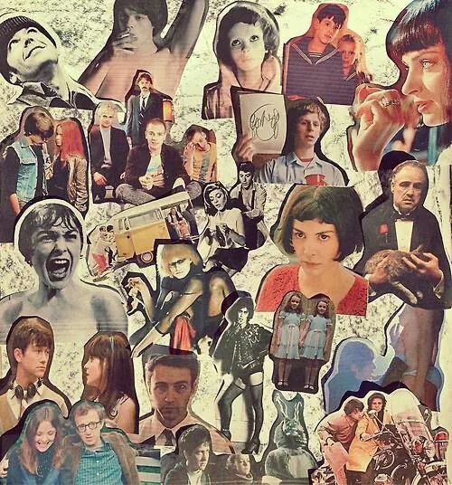 Amelie,500 días con summer, figth club the rocky horror picture show, the shinning, the goodfather, transpoitting, submarine, little miss sunshine, scott pilgrim vs world, pulp fiction, psicosis, donnie darko
