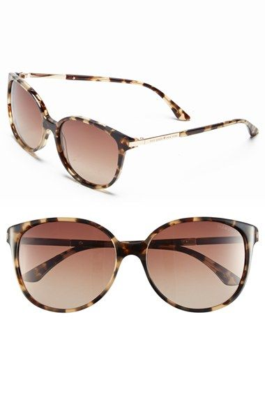 kate spade new york 'shawna' 56mm polarized sunglasses (Nordstrom Exclusive) available at #Nordstrom