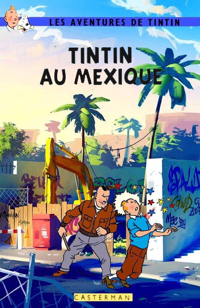 Tintin au Mexique