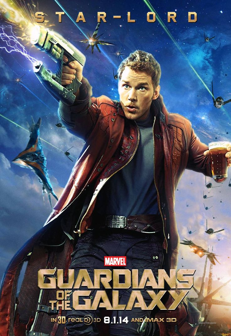 Star Lord / Peter Quill (Chris Pratt) - Guardians Of The ...