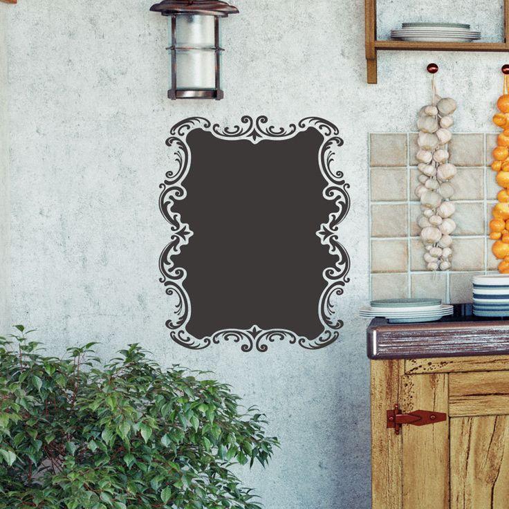 Elegant Vintage Country Style Chalkboard Vinyl Graphic Sticker Decal ~ Item 0302 by WallVinylCreations on Etsy https://www.etsy.com/listing/232512620/elegant-vintage-country-style-chalkboard