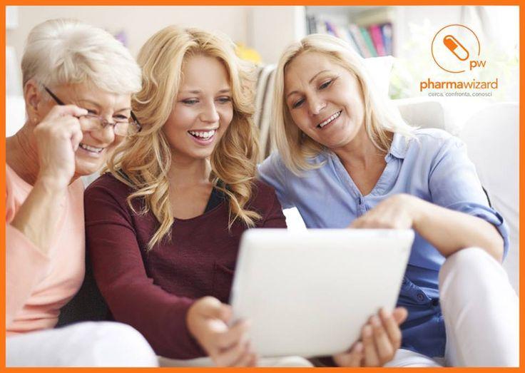 Pharmawizard è semplice, intuitiva e affidabile. Per tutti.  Scarica l'App, è gratis!