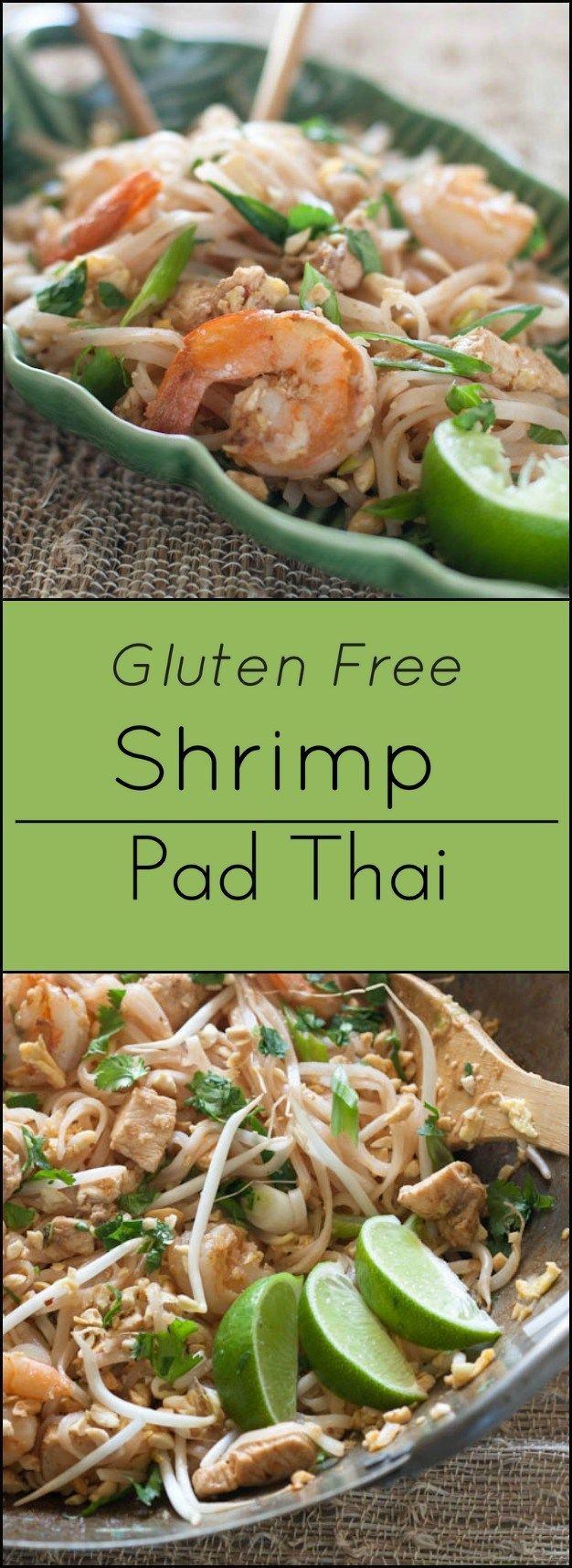 Gluten free Shrimp Pad Thai.