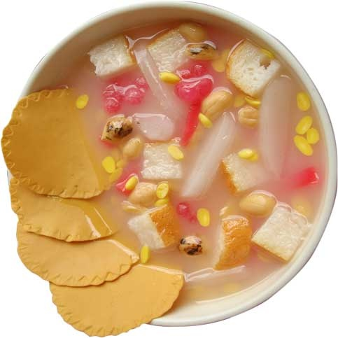 Sekoteng, an Indonesian traditional drink. Have it when you have the cold, u'll feel better sooner than later. #Indonesia