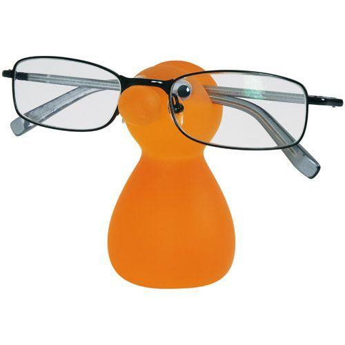 La Chaise Longue - Porte lunettes Bonhomme orange - pas cher Achat/Vente Lunettes Tendance - RueDuCommerce
