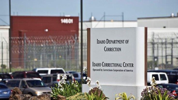 President Donald Trump's tough stance on fighting crime and illegal immigration has led to a spike in the share prices of the leading private prison companies.