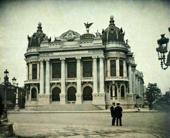 Marc Ferrez | Acervo Instituto Moreira SallesTeatro Municipal, c. 1914 - Rio de Janeiro - Brasil