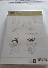 KIMONO KIDS Stampin Up 6 Clearmount Rubber Stamps. RARE. RETIRED. NEW. in Crafts, Stamping & Embossing, Stamps | eBay