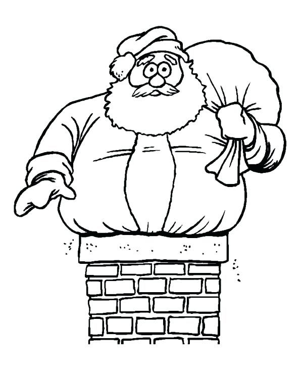 Santa Coloring Pages Printable Christmas Coloring Pages Santa