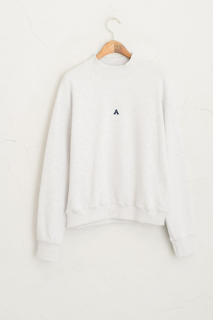 Olive - A Sweatshirt, Grey, £39.00 (http://www.oliveclothing.com/p-oliveunique-20150915-061-grey-a-sweatshirt-grey)