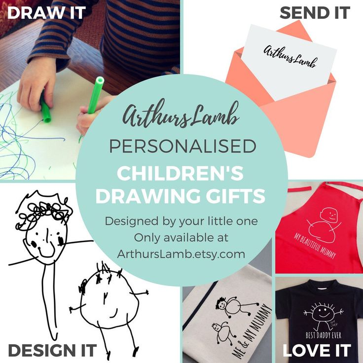 Why not get your little one to design their own gift this Christmas!! Have multiple drawings combined, added your little ones own handwriting and have any caption of your choice.