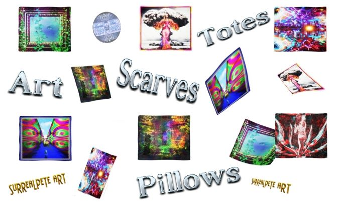 Art Scarves In Stock