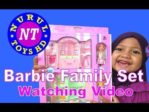 Barbie Kid Family Set #Lemari Pakaian Barbie @Nurul ToysHD