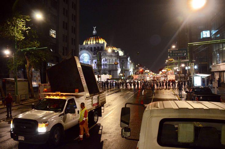 Libera Gobierno CDMX espacio público en Eje Central