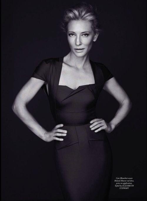 Cate Blanchett, photographed by for Steven CheeHarper's BAZAAR Australia, May 2013.