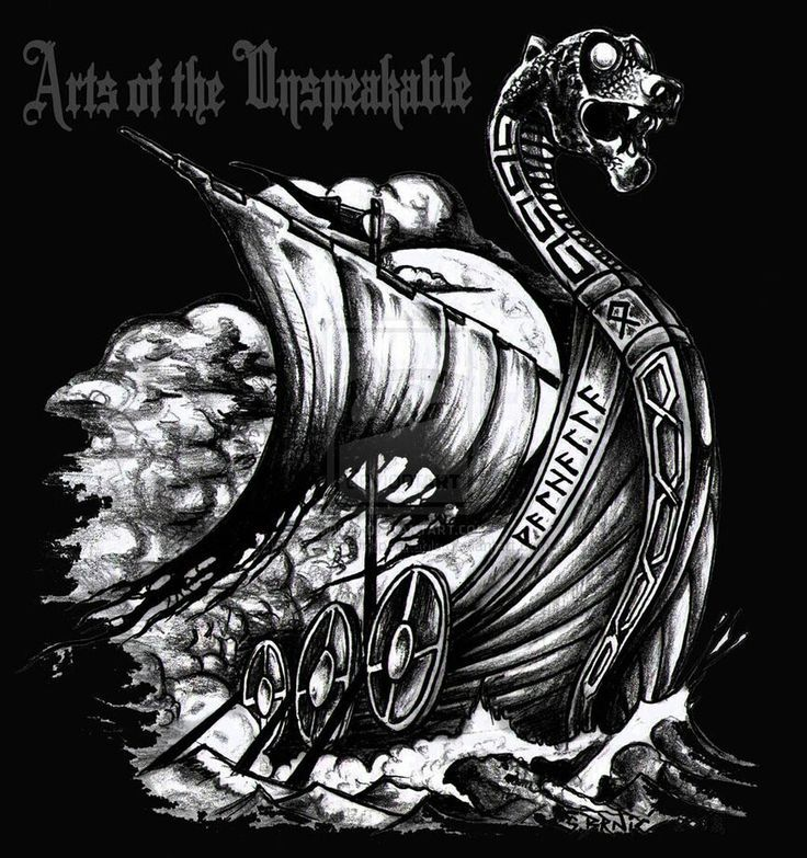 Viking ship symbol #viking #symbol _ wikingerschiff symbol ...